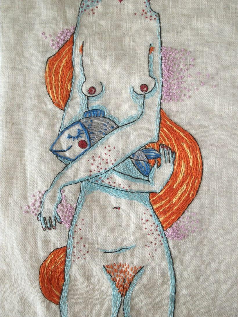 Ilustración bordada 3