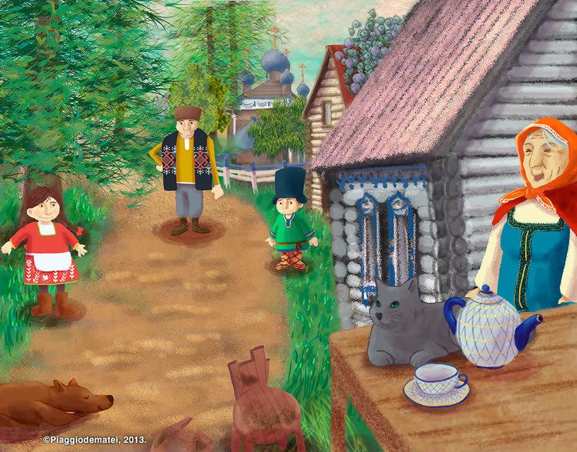 Tales Of The Magic Wheel - Baba Yaga 3