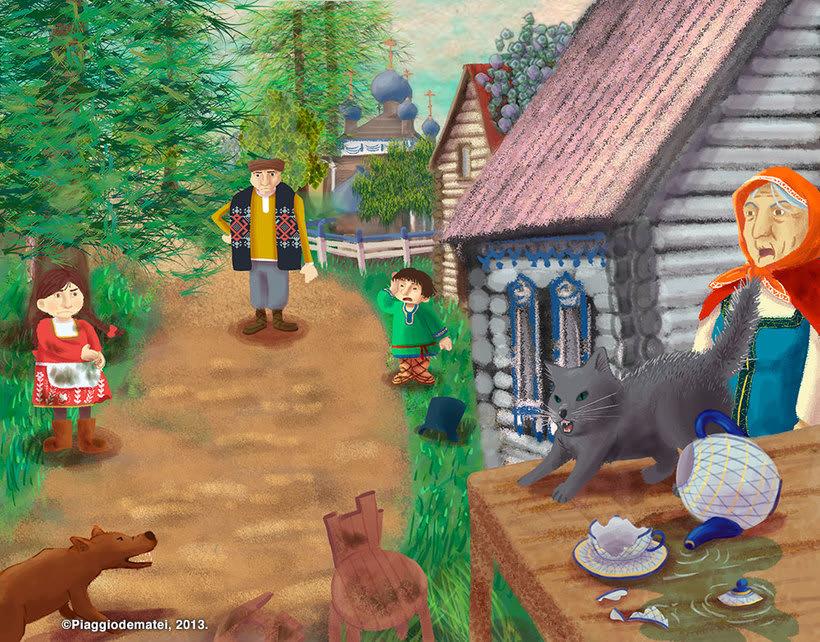 Tales Of The Magic Wheel - Baba Yaga 4