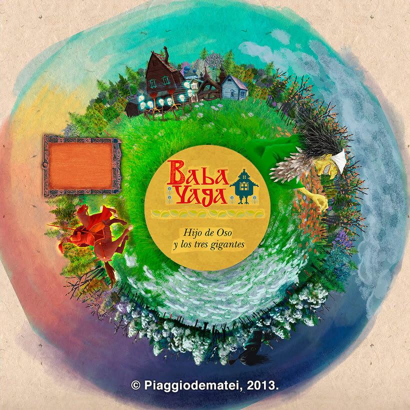 Tales Of The Magic Wheel - Baba Yaga 2