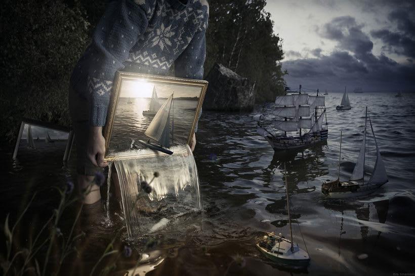 Erik Johansson, amo y maestro del Photoshop 5