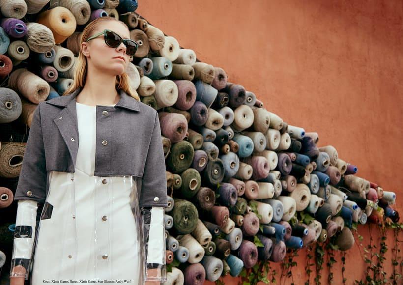 "Fashion editorial ""Retrofuturism"" for ""Confus Magazine"". -1"