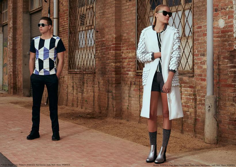 "Fashion editorial ""Retrofuturism"" for ""Confus Magazine"". 1"