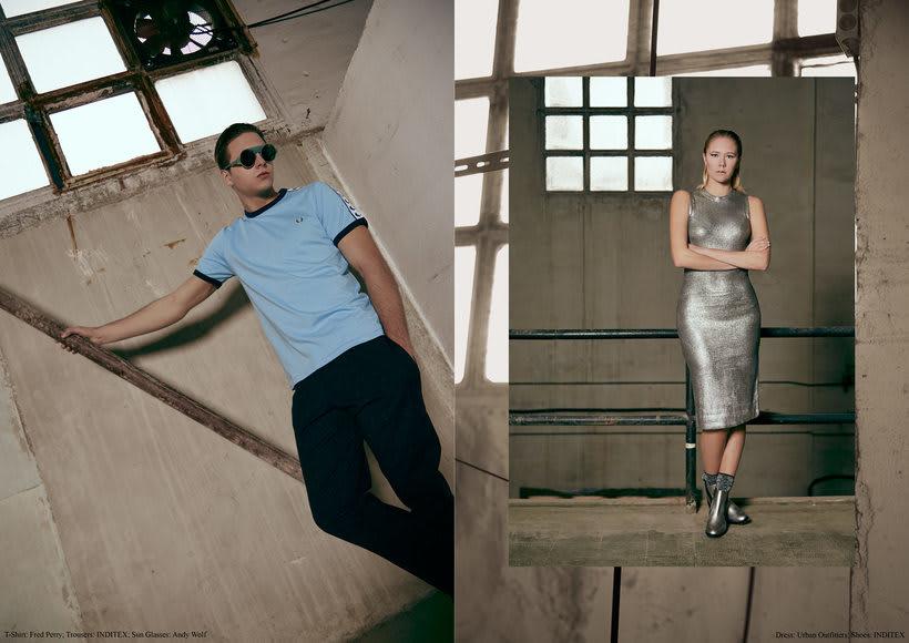 "Fashion editorial ""Retrofuturism"" for ""Confus Magazine"". 2"