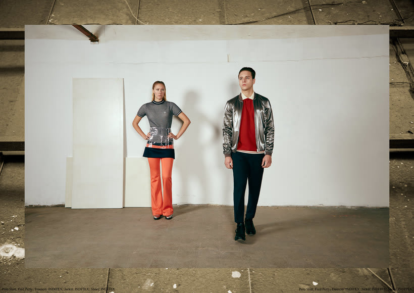 "Fashion editorial ""Retrofuturism"" for ""Confus Magazine"". 3"