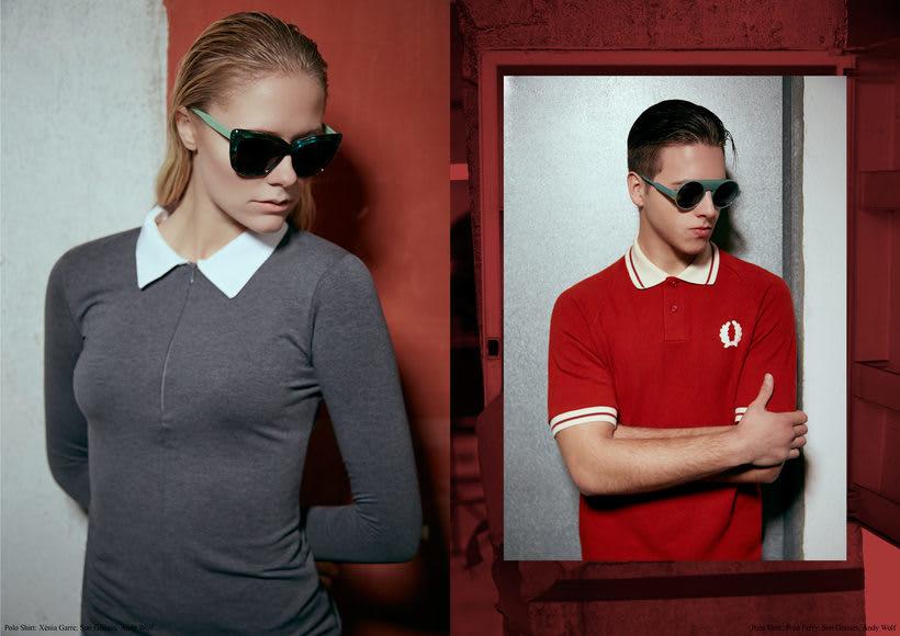 "Fashion editorial ""Retrofuturism"" for ""Confus Magazine"". 4"
