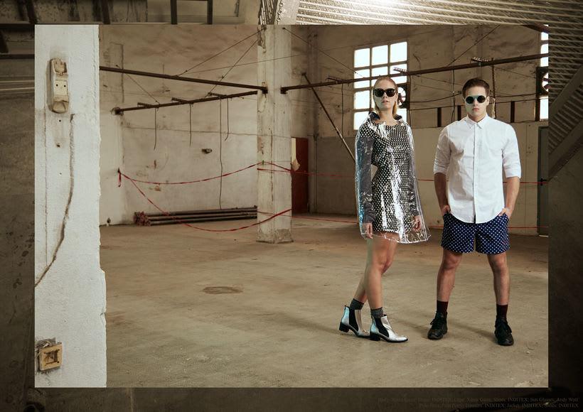 "Fashion editorial ""Retrofuturism"" for ""Confus Magazine"". 5"