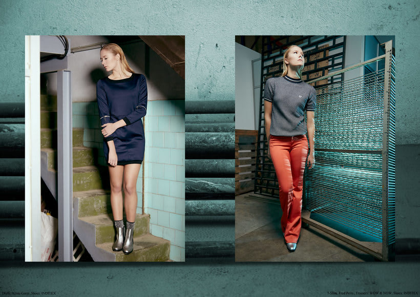 "Fashion editorial ""Retrofuturism"" for ""Confus Magazine"". 6"