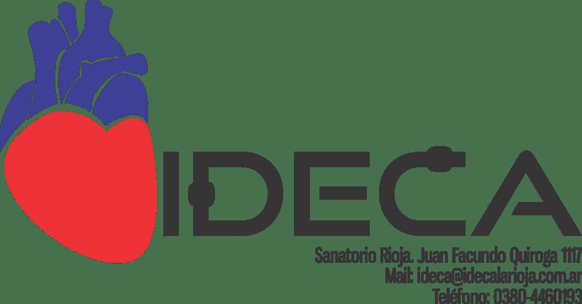 Isologotipo para IDECA (Instituto de cardiología) - Especializado en Hemodinamia -1