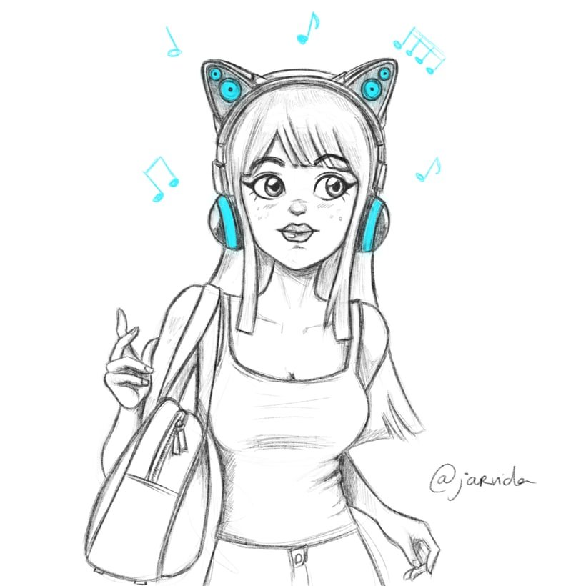 Cat headphones 1