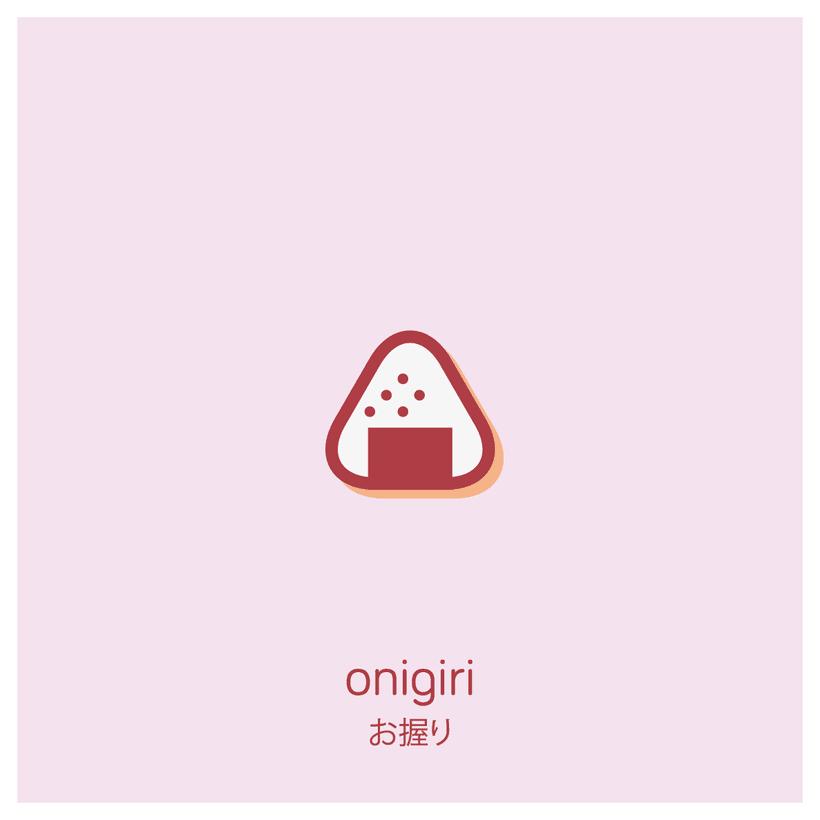 Snacks japanese people enjoy - an icon set 2