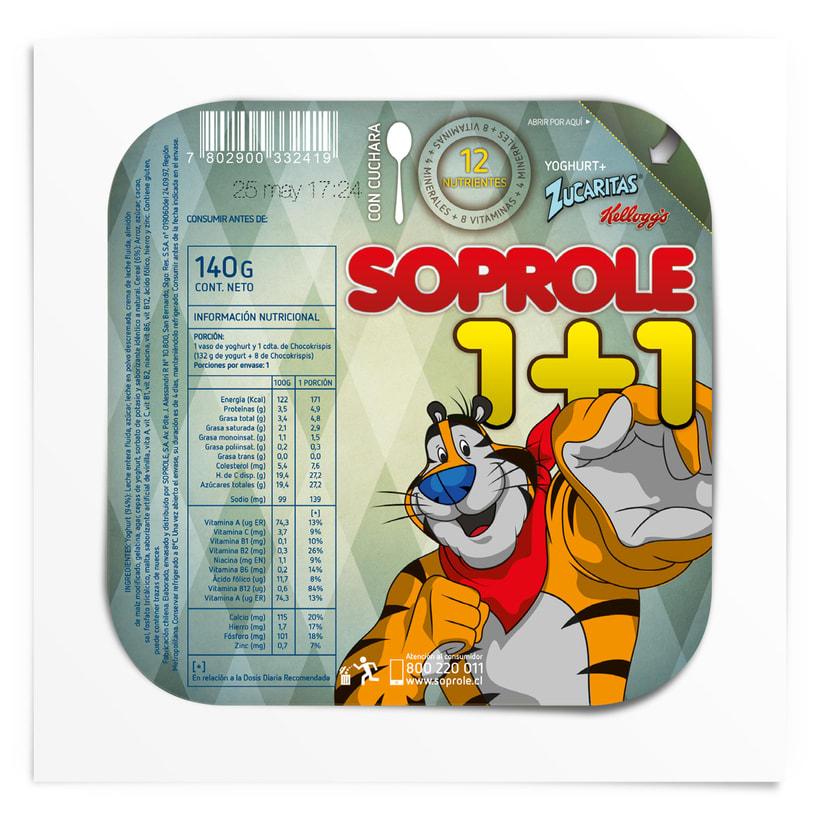 SOPROLE 1+1 / ZUCARITAS 3