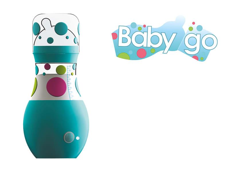 Diseño de Biberón autocalentable BabyGo 0