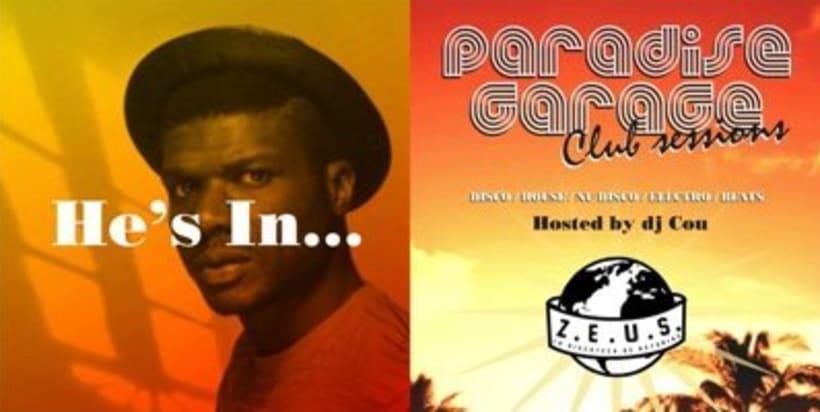 """""""Paradise garage@Zeus"""" : Creación de materiales de imagen para club itinerante. 3"""