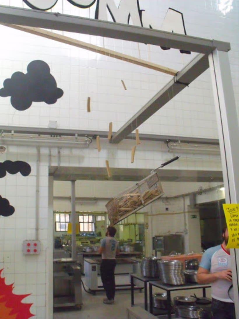 Accidente Laboral Proyecto publicado en octubre de 2010    Cliente: Arenas Movedizas 2010        Agencia: LaModern Modern  (Héctor del Campo y Alejandro Mazuelas Kamiruaga) 6