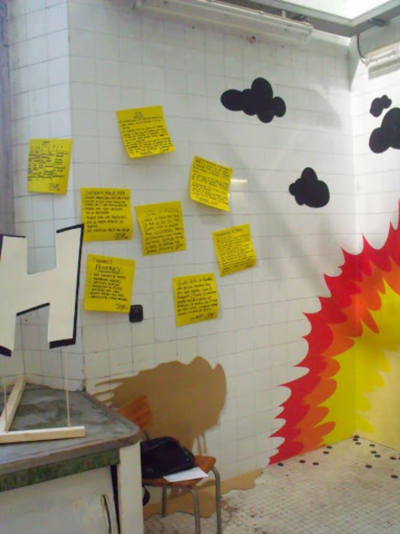 Accidente Laboral Proyecto publicado en octubre de 2010    Cliente: Arenas Movedizas 2010        Agencia: LaModern Modern  (Héctor del Campo y Alejandro Mazuelas Kamiruaga) 7