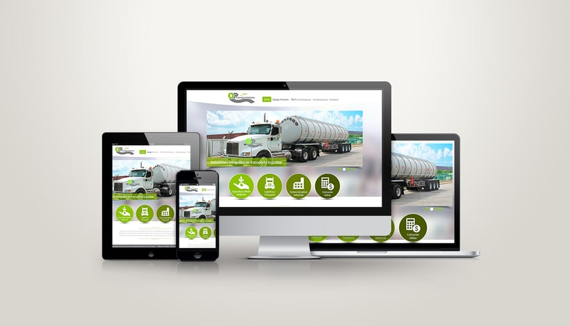 Diseño Web OP Trasportadora 0