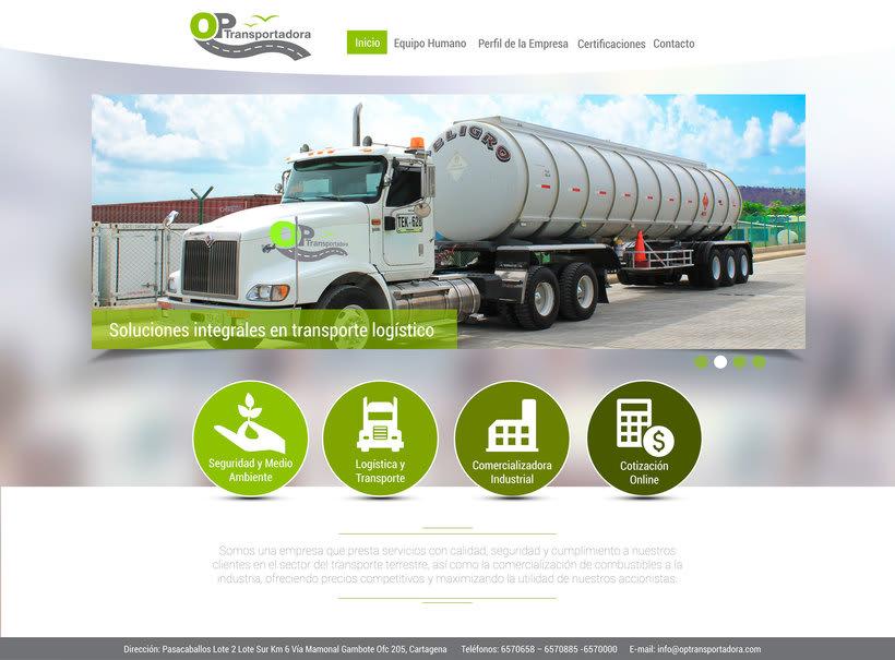 Diseño Web OP Trasportadora 1