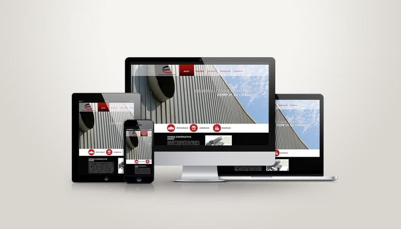 Diseño Web Edificios Indutriales 0