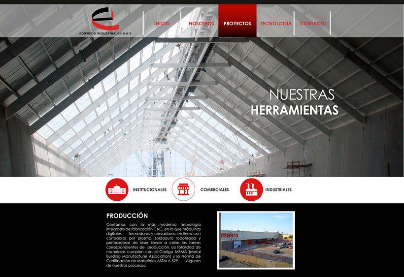 Diseño Web Edificios Indutriales 2