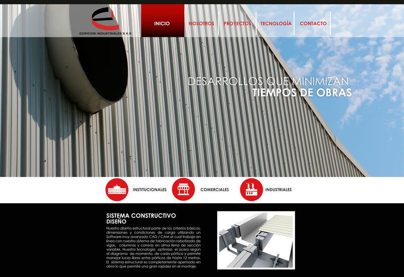 Diseño Web Edificios Indutriales 1