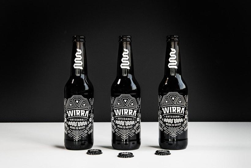 """Mi Proyecto del curso: Branding y Packaging para una Cerveza Artesanal """"WIRRA"""" 2"""