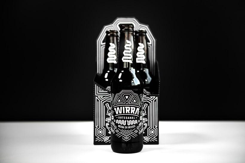 """Mi Proyecto del curso: Branding y Packaging para una Cerveza Artesanal """"WIRRA"""" 0"""