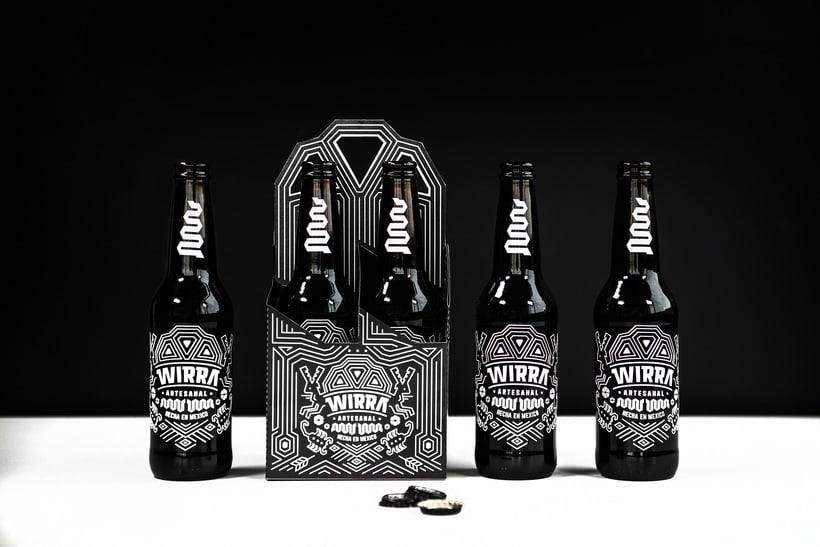 """Mi Proyecto del curso: Branding y Packaging para una Cerveza Artesanal """"WIRRA"""" 3"""