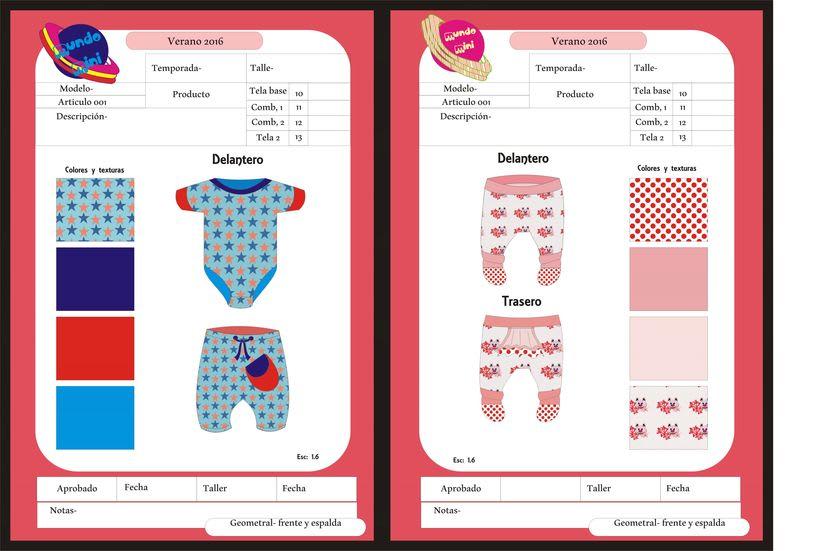 diseños para empresa de indumentaria de niños 0