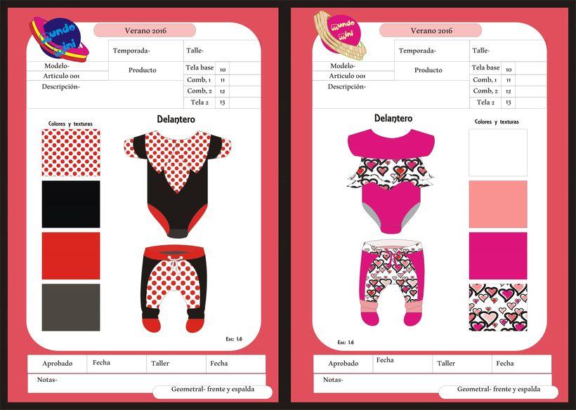 diseños para empresa de indumentaria de niños 1