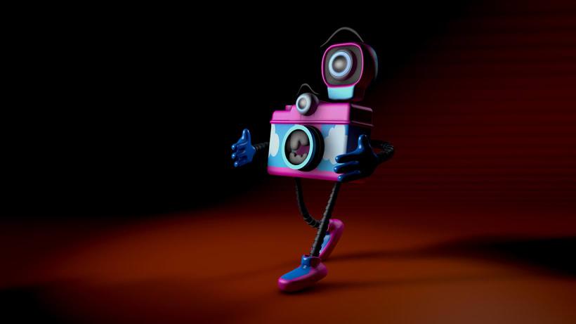 Mi Proyecto del curso: Diseño de personajes y Animación 3D 1