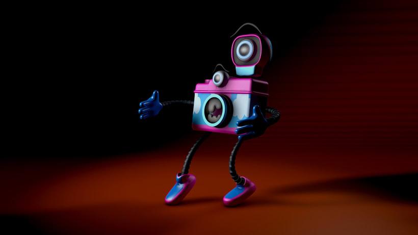 Mi Proyecto del curso: Diseño de personajes y Animación 3D 3