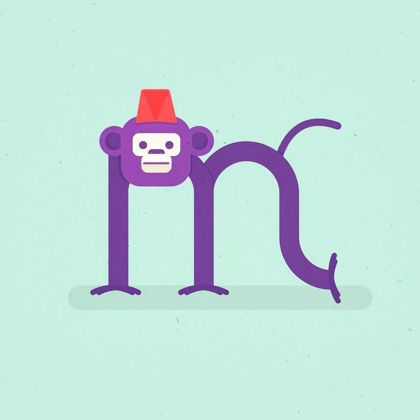 M is for Monkey 0