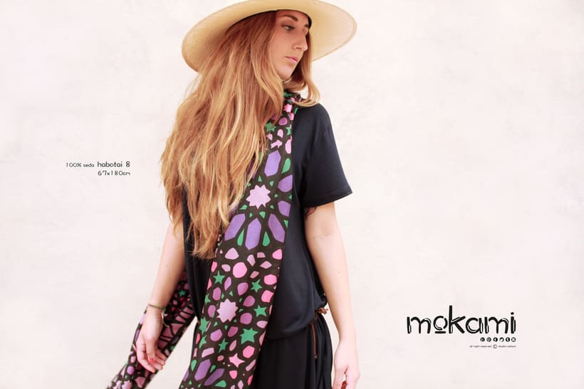 Silk scarves & shawl designs by mokami on Etsy 3