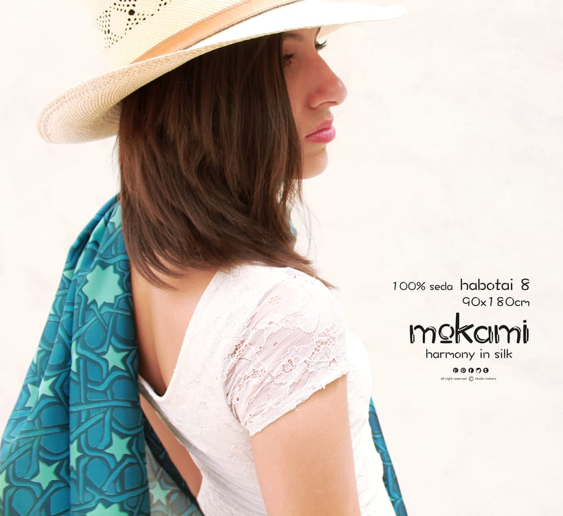 Silk scarves & shawl designs by mokami on Etsy 8