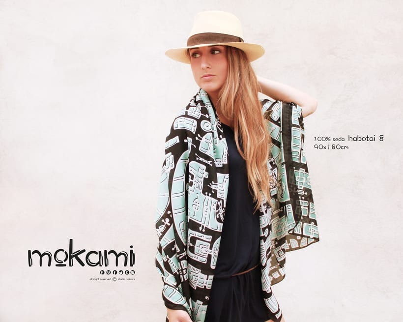 Silk scarves & shawl designs by mokami on Etsy 11