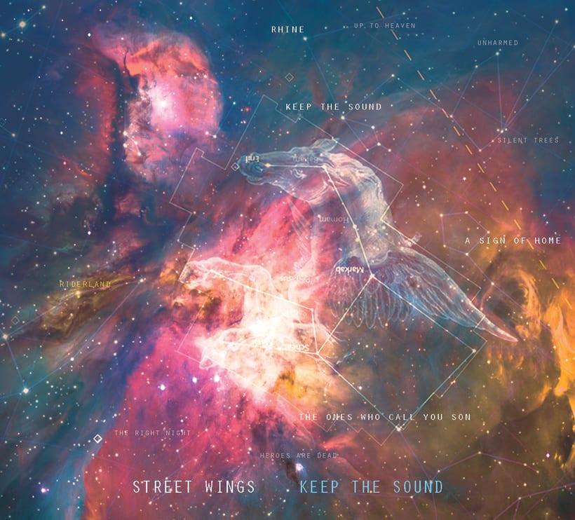 "Portada LP Street wings ""keep the sound"" -1"