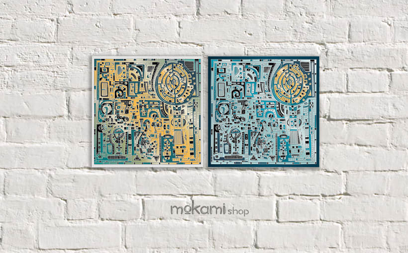 Bohemian canvases home decor designed by mokami 8