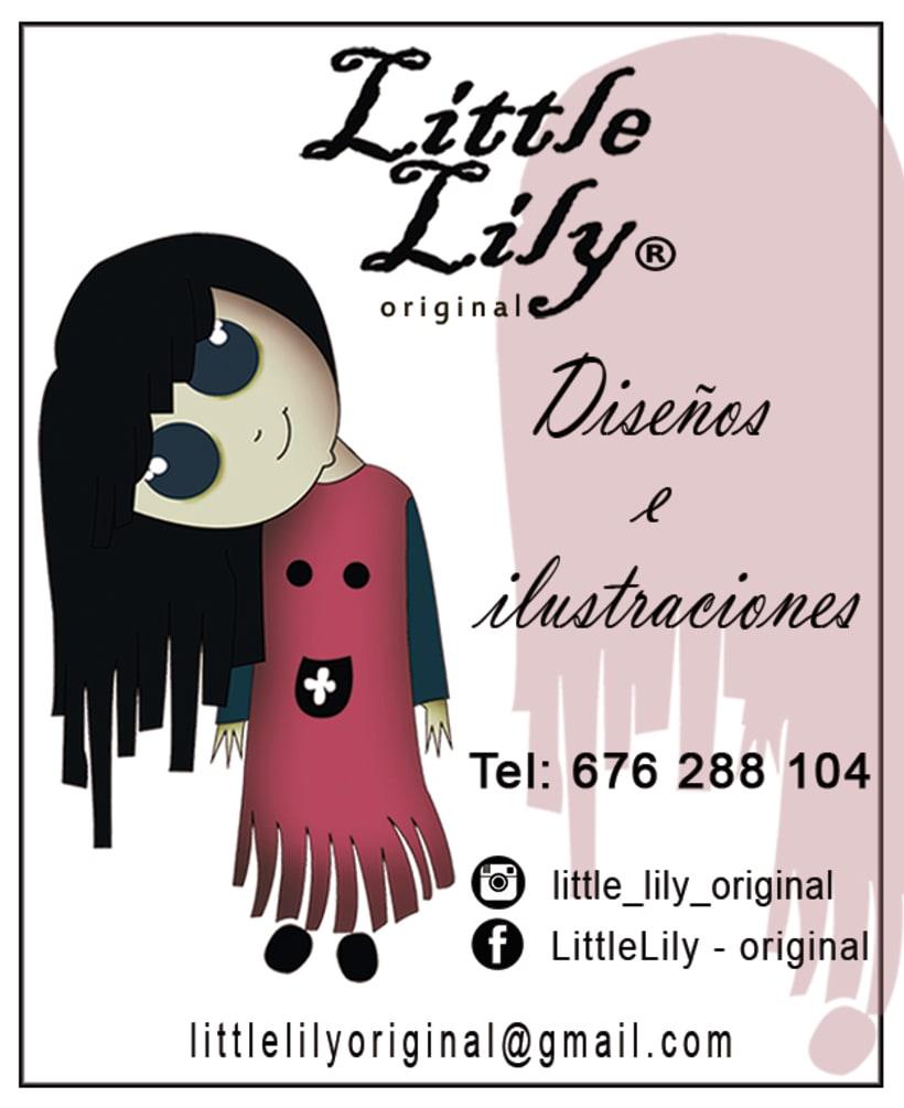 Tarjeta Little Lily - original -1