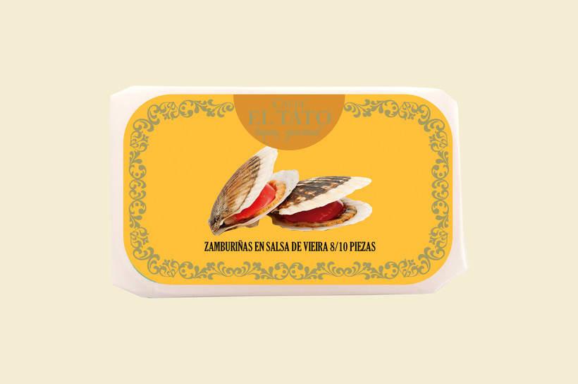 Diseño packaging Conservas 2