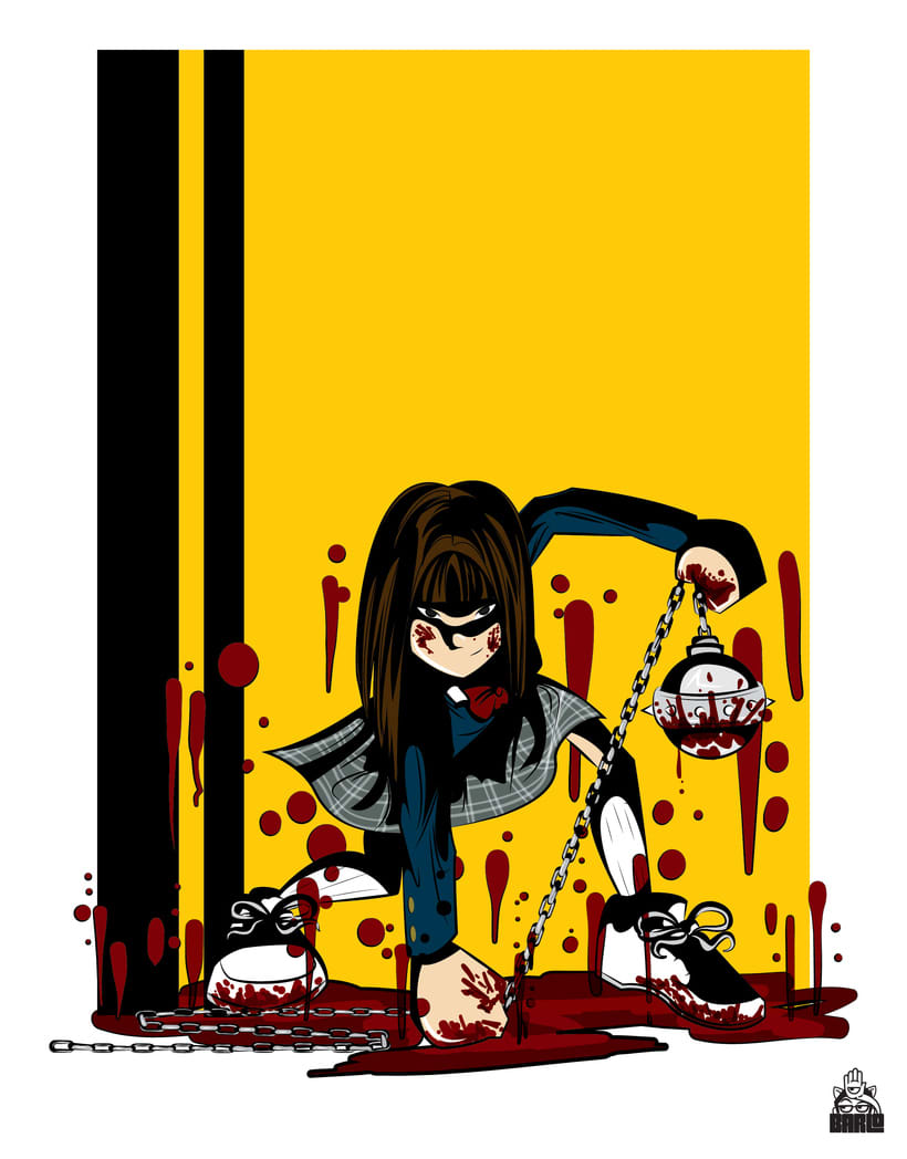 Gogo Yubari from Kill Bill, vol. 1 -1
