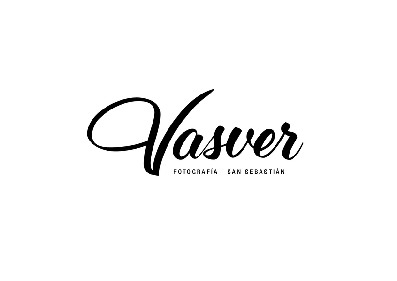 Logotipo Vasver Fotografía San Sebastián 1