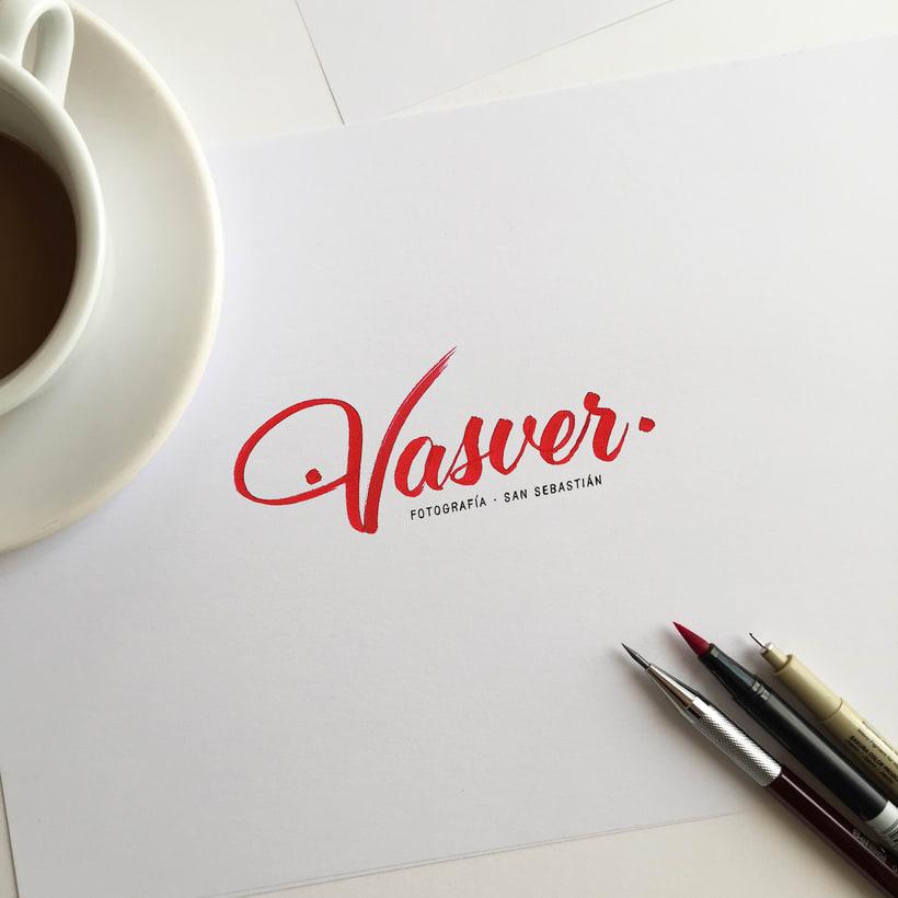 Logotipo Vasver Fotografía San Sebastián 0