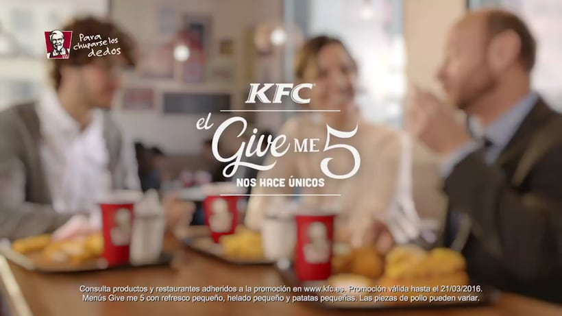 Súper Menú Give Me 5 for KFC 3