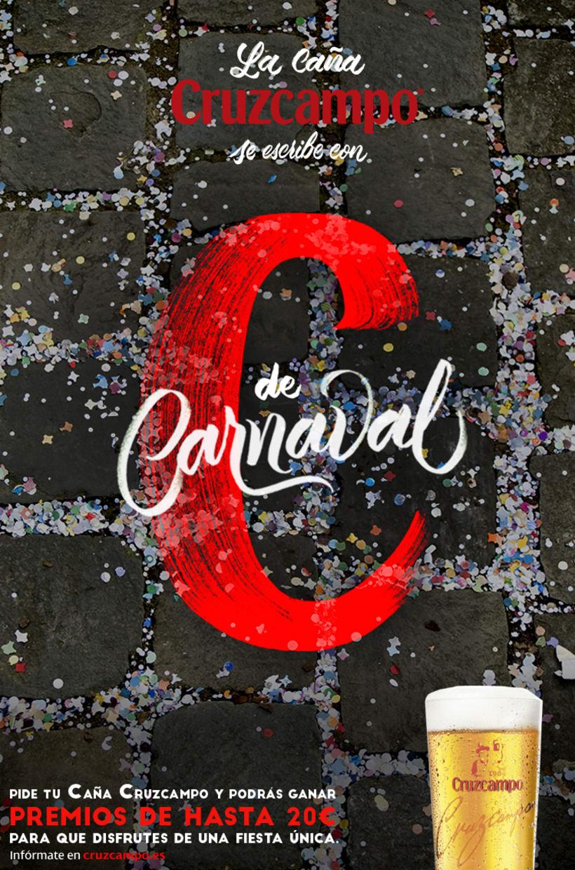 Diseño Campaña Cruzcampo Carnaval de Cádiz 2016 -1