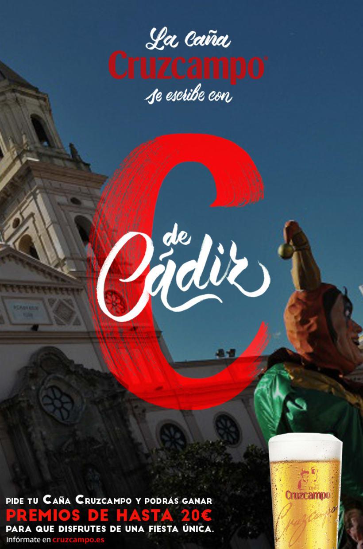 Diseño Campaña Cruzcampo Carnaval de Cádiz 2016 0