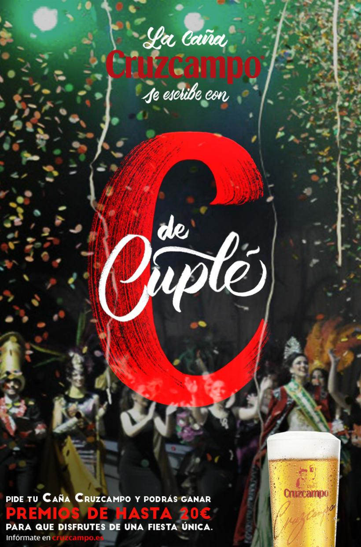 Diseño Campaña Cruzcampo Carnaval de Cádiz 2016 1