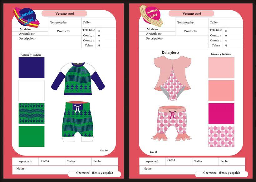 diseños para empresa de indumentaria de niños 2