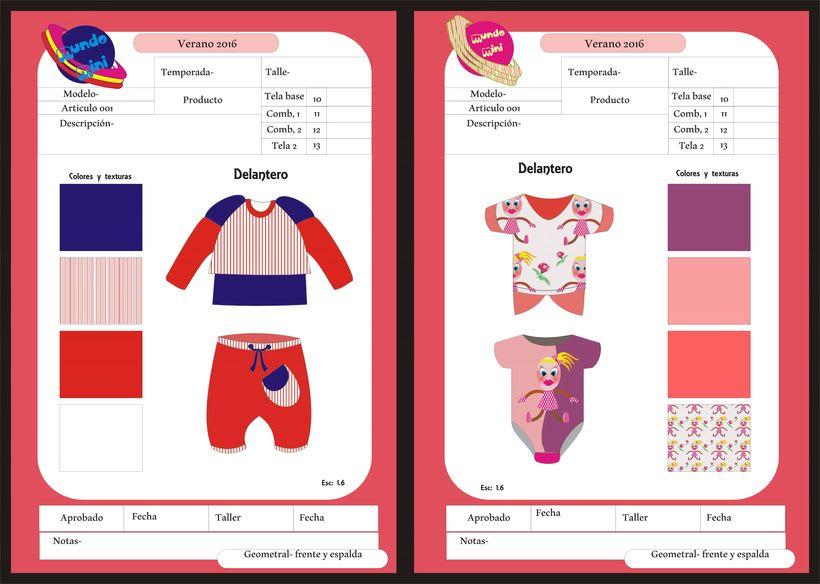 diseños para empresa de indumentaria de niños 3