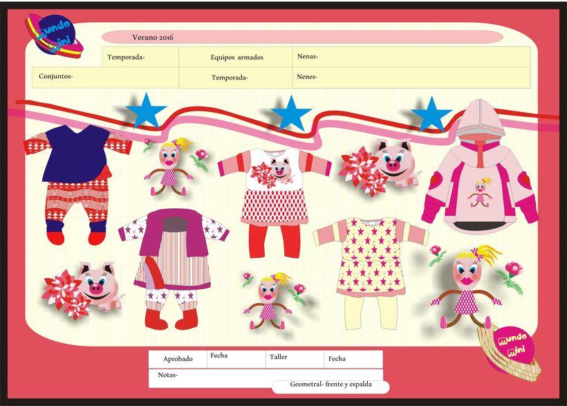 diseños para empresa de indumentaria de niños 5